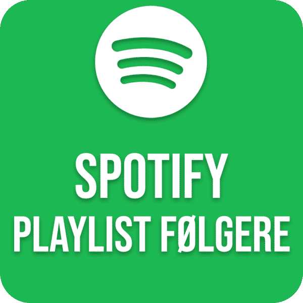 Køb Spotify Playlist følgere