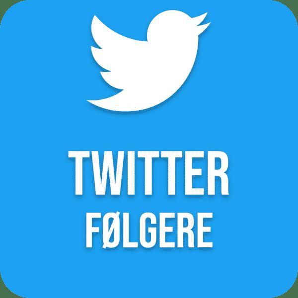 Køb Twitter Følgere